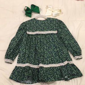 Custom made smock girls dress 3T